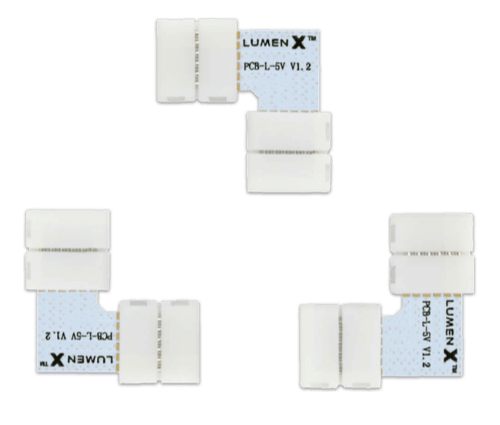 Lumenx - What's in the box: 3 corner connectors